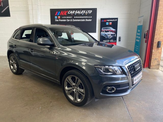 2012 12 AUDI Q5 3.0 TDI QUATTRO S LINE SPECIAL EDITION 5d 240 BHP SOLD TO PETE FROM DONCASTER