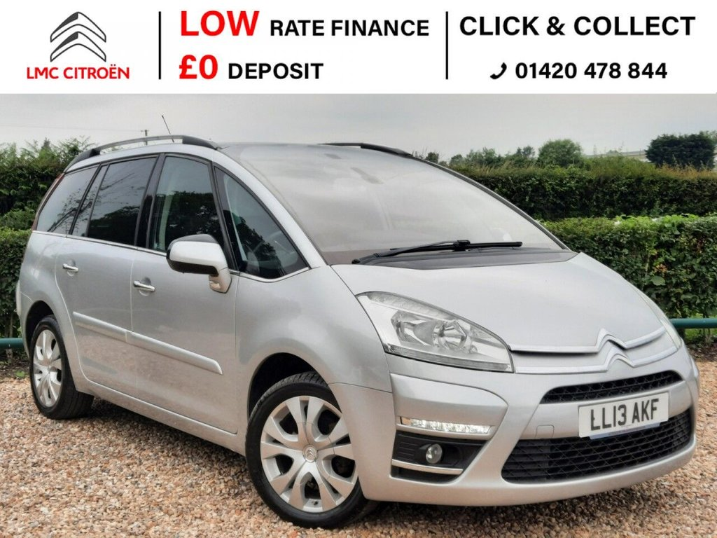 USED 2013 13 CITROEN C4 GRAND PICASSO 1.6 PLATINUM EGS E-HDI 5d 110 BHP ***DRIVES PERFECTLY***
