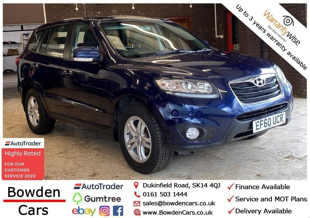 USED 2010 60 HYUNDAI SANTA FE 2.2 CRDi Style 5dr (5 seat) **FREE NATIONWIDE DELIVERY**