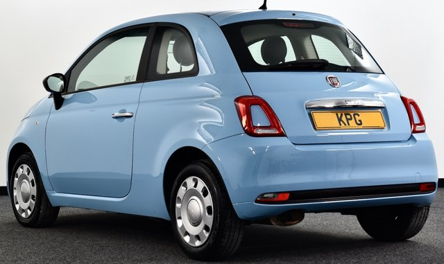 USED 2016 16 FIAT 500 1.2 8V Pop (s/s) 3dr Volare Blue, Lovely Example