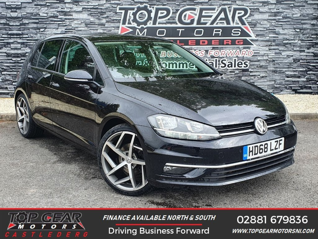 USED 2019 68 VOLKSWAGEN GOLF 1.6 TDI 120BHP GT DSG  ** APPLE CAR PLAY, DSG, WARRANTY, ALLOY PACKAGES AVAILABLE **