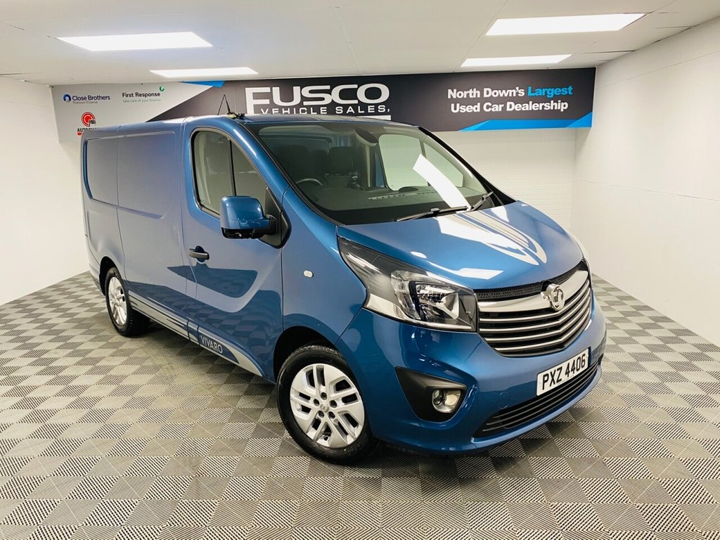 USED 2017 VAUXHALL VIVARO 1.6 L1H1 2700 LIMITED EDITION NAV CDTI P/V BITURBO S/S 125 BHP NATIONWIDE DELIVERY AVAILABLE!