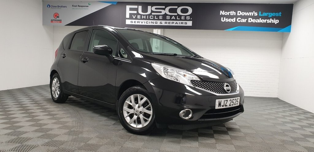 USED 2014 NISSAN NOTE 1.2 ACENTA PREMIUM 5d 80 BHP NATIONWIDE DELIVERY AVAILABLE!
