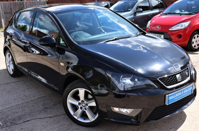 USED 2015 65 SEAT IBIZA 1.4 TSI ACT FR 5d 140 BHP * BUY ONLINE * FREE NATIONWIDE DELIVERY *
