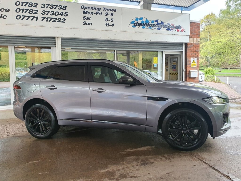 USED 2019 69 JAGUAR F-PACE CHEQUERED FLAG 2.0D AWD AUTO