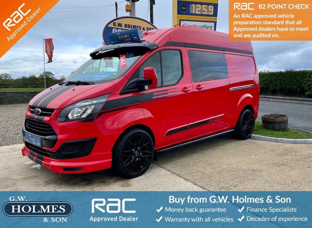 USED 2015 15 FORD TRANSIT CUSTOM 2.2 TDCI 290 100 BHP L2 H2 **SPORTS PACK**FSH**ONE OWNER**MUST SEE**