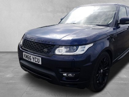 USED 2016 66 LAND ROVER RANGE ROVER SPORT 3.0 SDV6 HSE 5d 306 BHP