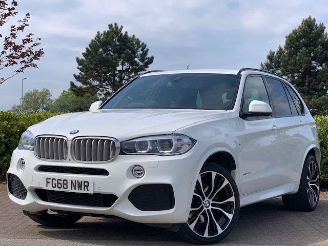 USED 2018 68 BMW X5 3.0 XDRIVE40D M SPORT 5d 309 BHP