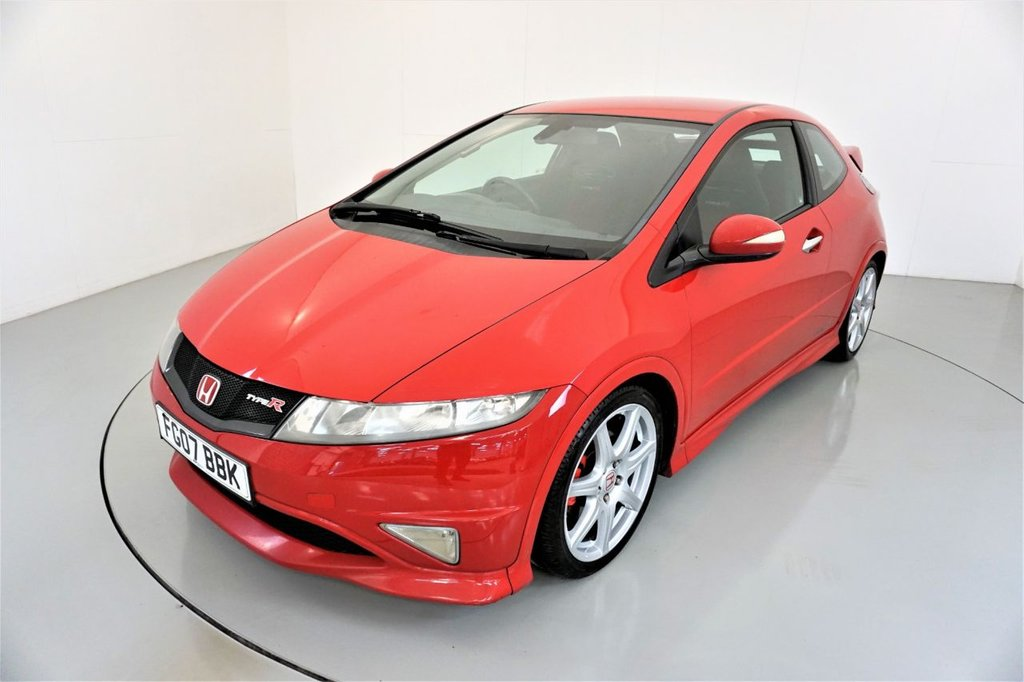 USED 2007 07 HONDA CIVIC 2.0 I-VTEC TYPE-R GT 3d-WHEELS HAVE JUST BEEN REFURBISHED-ELECTRIC FOLDING MIRRORS-CRUISE CONTROL-NICE EXAMPLE