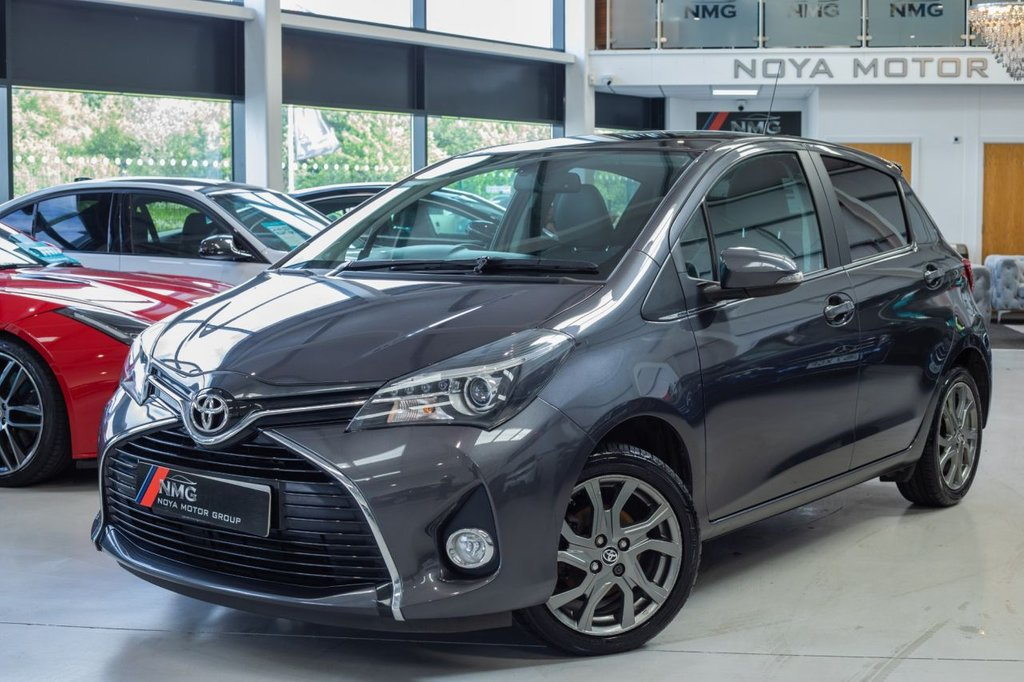 USED 2015 15 TOYOTA YARIS 1.3 VVT-I EXCEL 5d 99 BHP ***12 MONTH MOT INCLUDED***