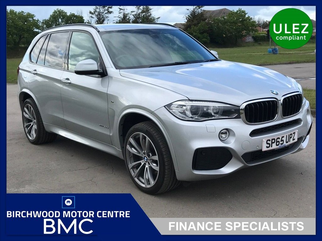 USED 2015 65 BMW X5 3.0 XDRIVE30D M SPORT 5d 255 BHP AUTOMATIC, FSH, IMMACULATE THROUGHOUT,