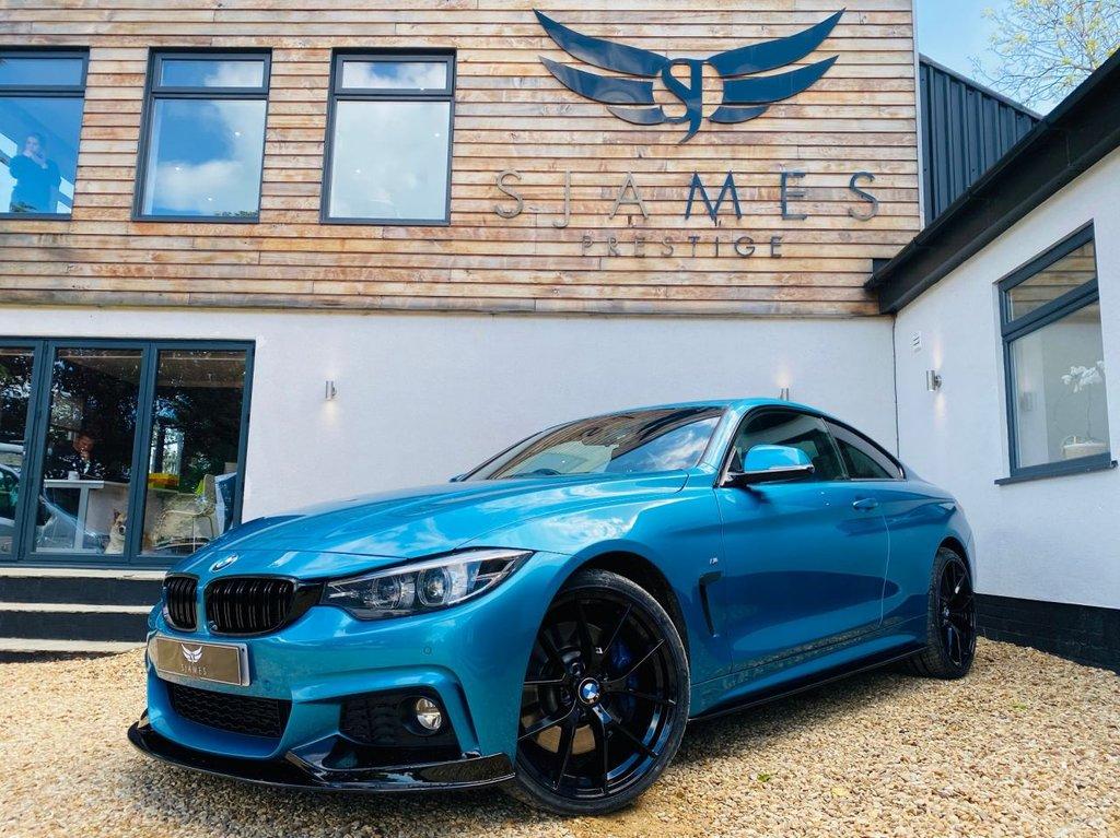 USED 2018 11 BMW 4 SERIES 3.0 435D XDRIVE M SPORT 2d AUTO 309 BHP