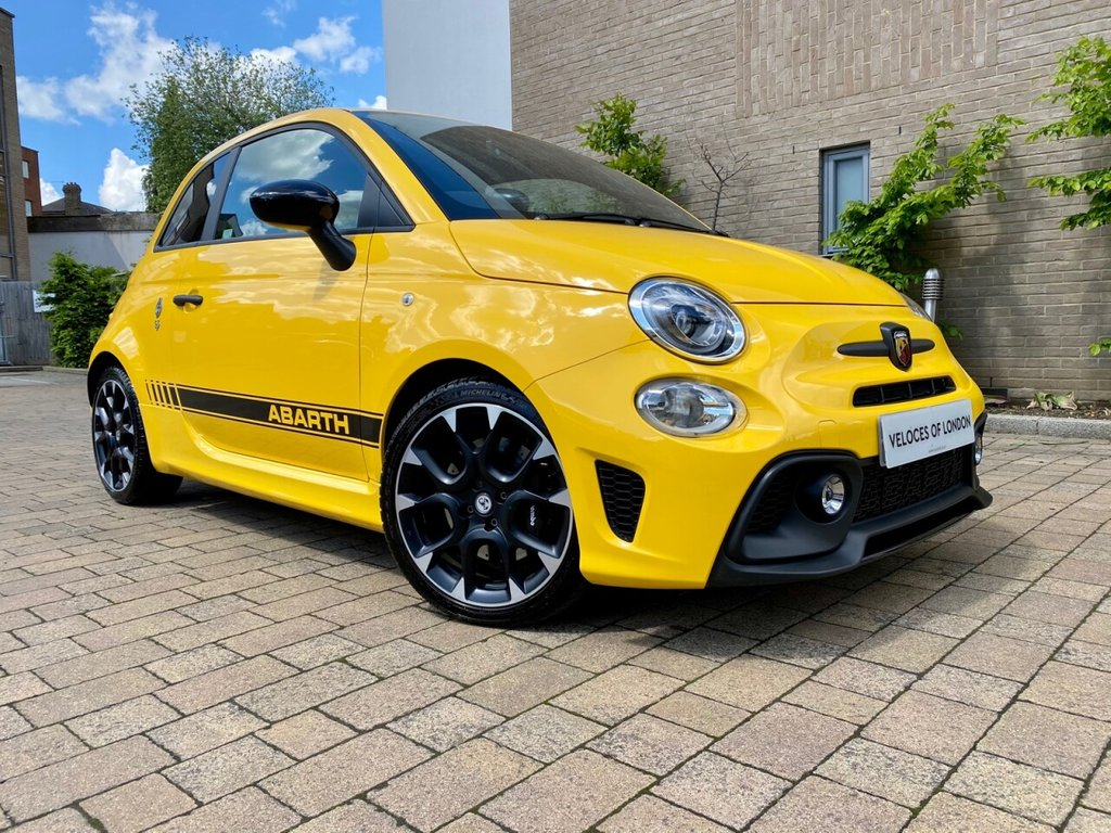 USED 2020 70 ABARTH 595 1.4 595 COMPETIZIONE 3d 177 BHP 70th Anniversary ..BALANCE OF MANUFACTURES WARRANTY 11/2023