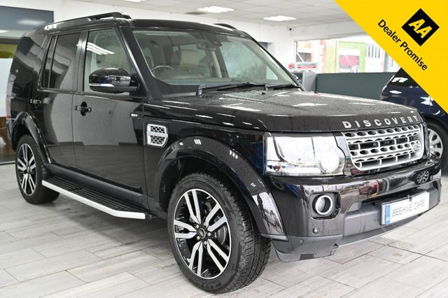 USED 2015 LAND ROVER DISCOVERY 3.0 SDV6 HSE LUXURY 5d 255 BHP