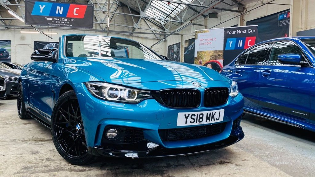 USED 2018 18 BMW 4 SERIES 3.0 435d M Sport Auto xDrive (s/s) 2dr PERFORMANCEKIT+20S+HUGESPEC!