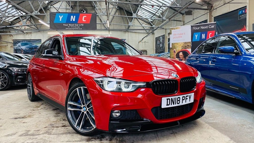 USED 2018 18 BMW 3 SERIES 2.0 330e 7.6kWh M Sport Shadow Edition Auto (s/s) 4dr PERFORMANCEKIT+SHAODWED+19S