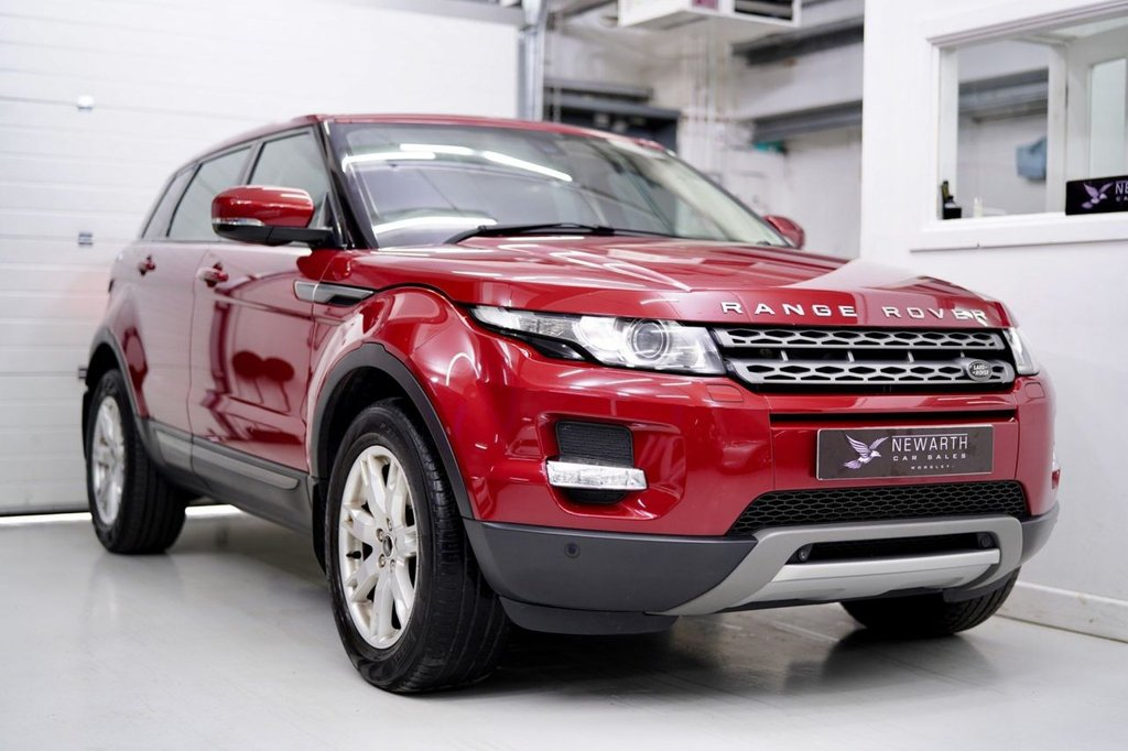 USED 2013 13 LAND ROVER RANGE ROVER EVOQUE 2.2 SD4 Pure Tech AWD 5dr PANORAMIC ROOF | BLACK LEATHER