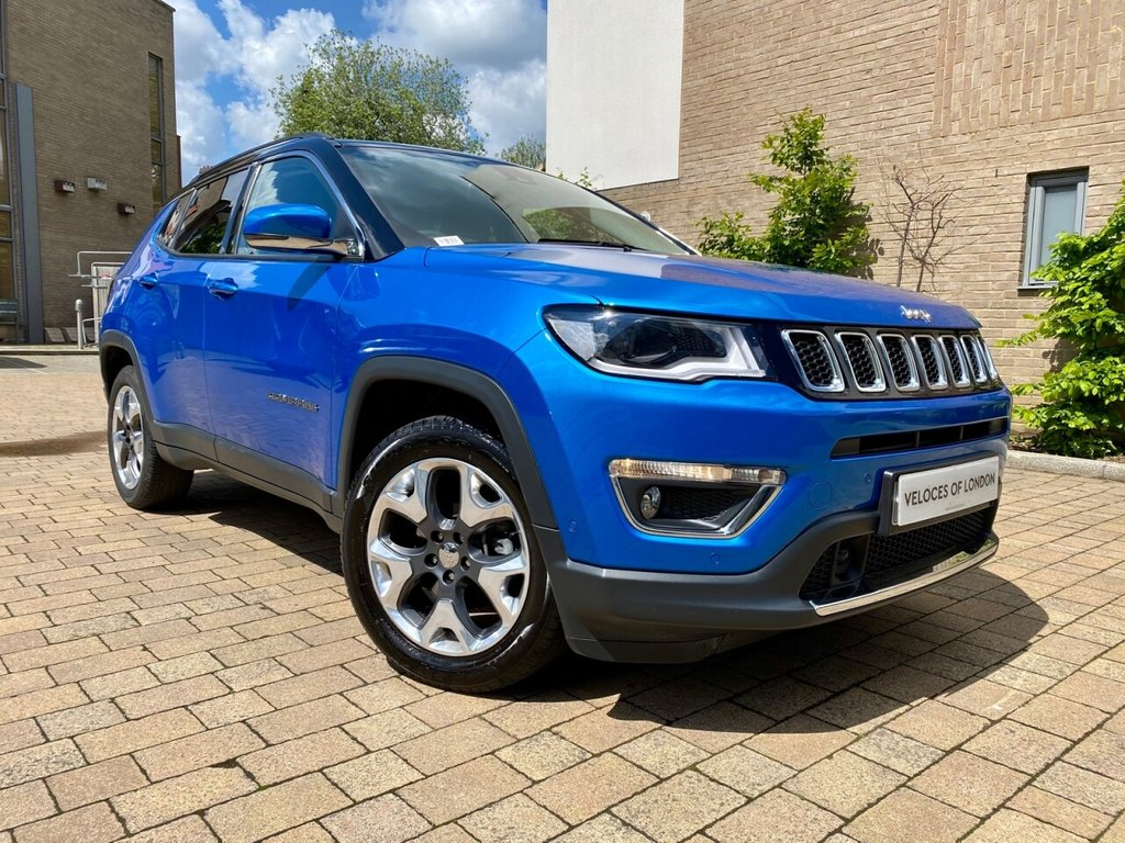 USED 2018 18 JEEP COMPASS 1.4 MULTIAIR II LIMITED 5d 138 BHP ONE OWNER EXAMPLE