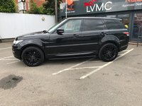 USED 2015 15 LAND ROVER RANGE ROVER SPORT 3.0 SDV6 HSE 5d 288 BHP ONE OWNER, 7 SEATS, PAN ROOF