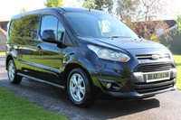 USED 2016 16 FORD TRANSIT CONNECT 1.6 240 LIMITED P/V 114 BHP NO VAT LIMITED MODEL WARRANTY PLUS MOT INCLUDED