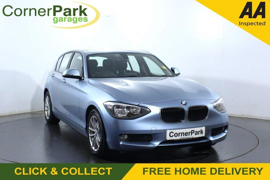 USED 2014 64 BMW 1 SERIES 1.6 116D EFFICIENTDYNAMICS 5d 114 BHP