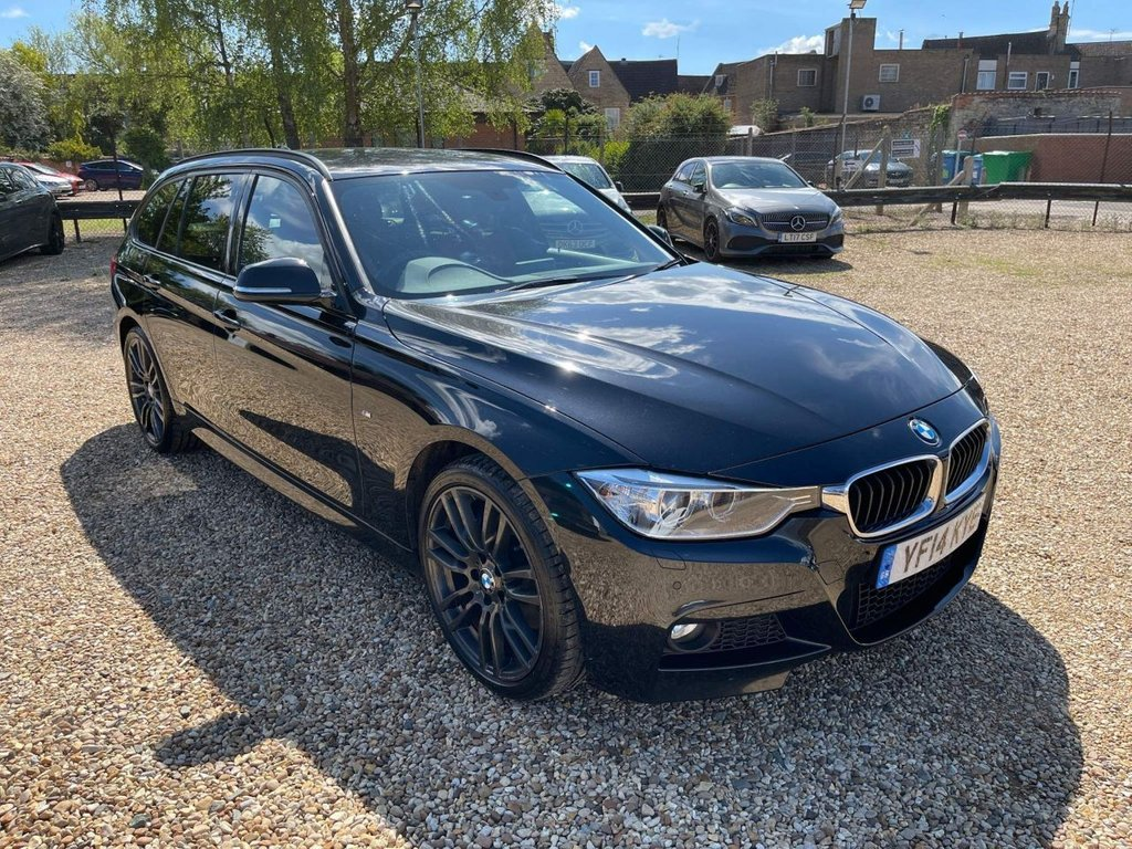 USED 2014 14 BMW 3 SERIES 2.0 320d M Sport Touring xDrive (s/s) 5dr Red Leather, Harman Kardon, ++