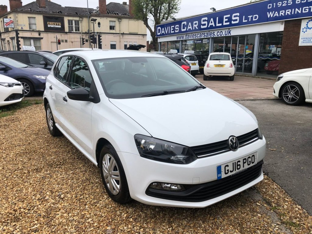 USED 2016 16 VOLKSWAGEN POLO 1.0 S AC 5d 60 BHP