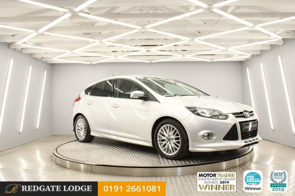 USED 2013 63 FORD FOCUS 1.6 ZETEC S TDCI 5d 113 BHP FAB SPEC, GREAT MPG, PRIVACY GLASS, CITY PACK WITH REAR SENSORS & ELECTRIC FOLDING MIRRORS, AIRCON, BLUETOOTH...