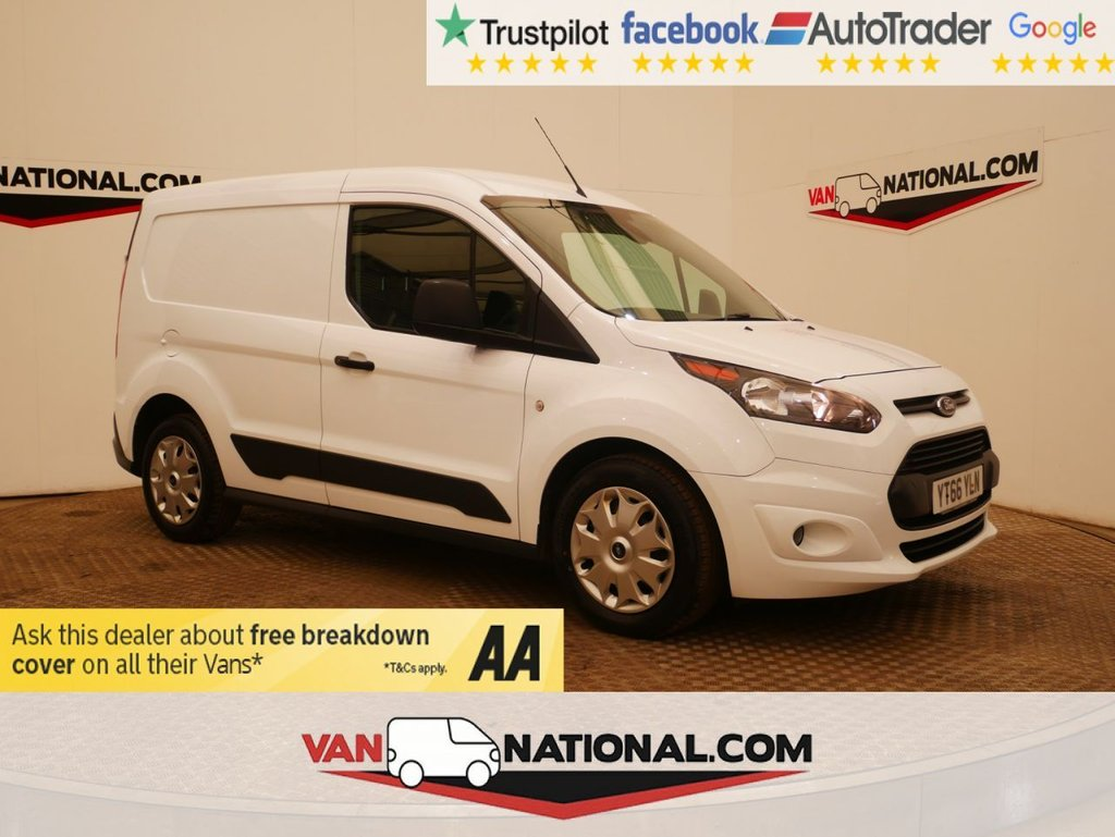 USED 2016 66 FORD TRANSIT CONNECT 1.5 200 TREND P/V 100 BHP L1 WWW.VANNATIONAL.COM