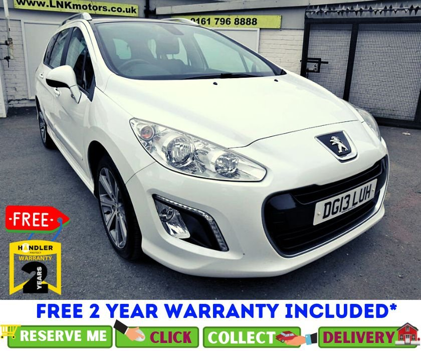 USED 2013 13 PEUGEOT 308 1.6 E-HDI SW ACTIVE 5d 112 BHP *CLICK & COLLECT OR DELIVERY *