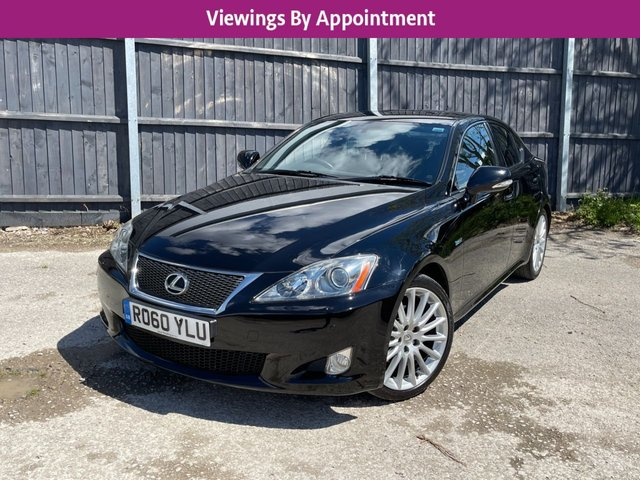 USED 2010 60 LEXUS IS 2.5 250 F SPORT 4d 204 BHP 1 OWNER  MANY EXTRAS, VIDEO WALKROUND-UK DELIVERY POSSIBLE