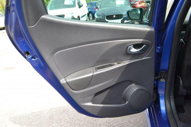 USED 2018 18 RENAULT CLIO 0.9 GT LINE TCE 5d 89 BHP ~ SAT NAV ~ IRON BLUE SAT NAV ~ 1 LADY OWNER ~ 2 KEYS ~ BLUETOOTH MEDIA