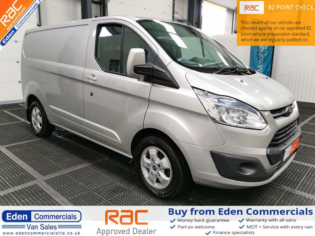 USED 2015 65 FORD TRANSIT CUSTOM 2.2 270 LIMITED LR * HEATED SEATS + AIR CON *