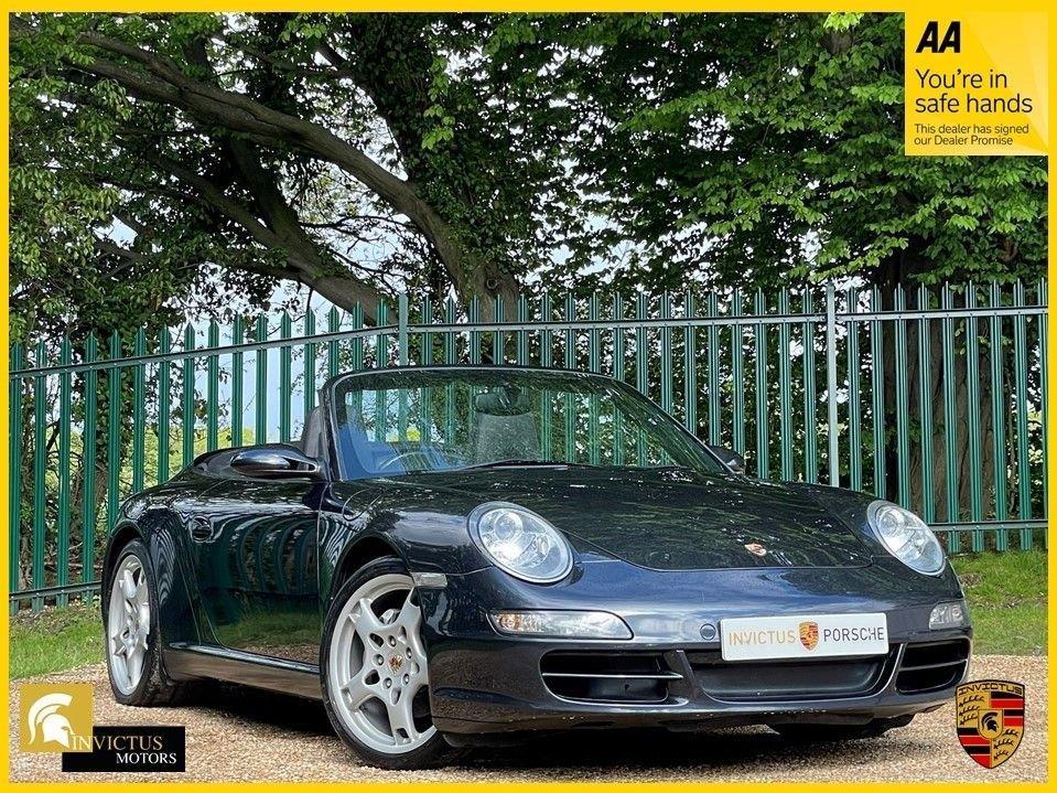 USED 2005 05 PORSCHE 911 3.6 CARRERA 2 2d 325 BHP