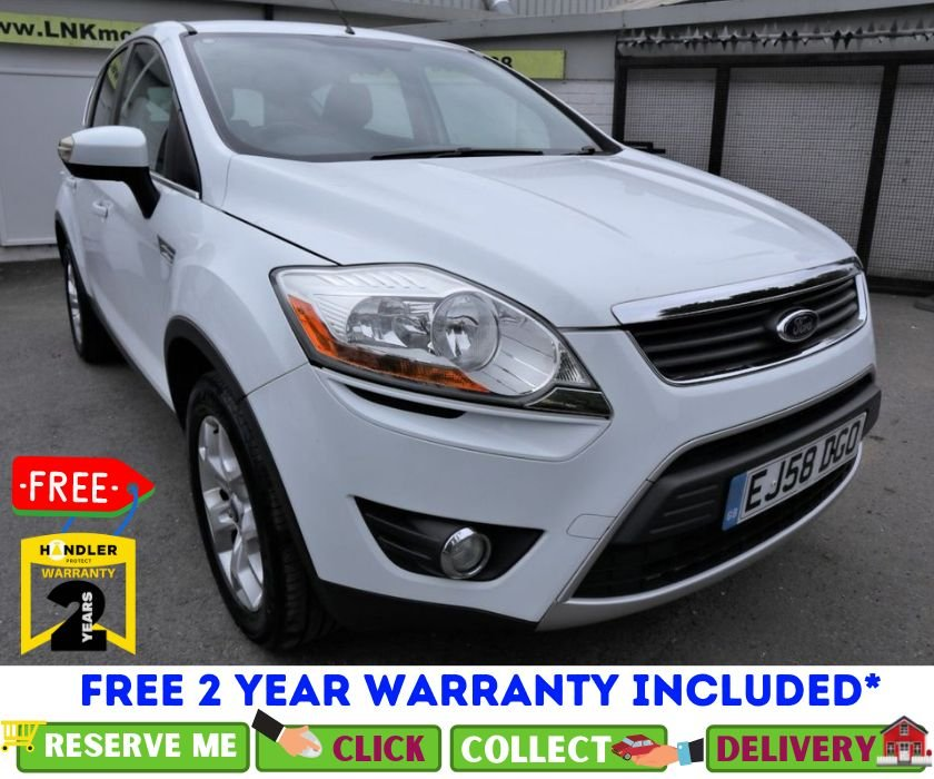 USED 2008 58 FORD KUGA 2.0 ZETEC TDCI AWD 5d 134 BHP *CLICK & COLLECT OR DELIVERY *