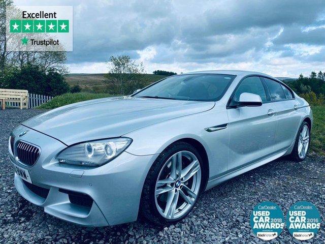 USED 2013 13 BMW 6 SERIES 3.0 640D M SPORT GRAN COUPE 4d 309 BHP BLUETOOTH, 2 KEYS, NICE CAR
