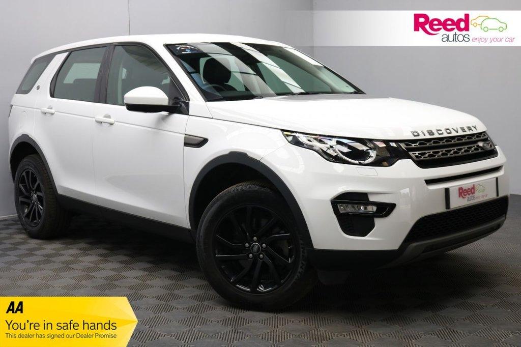 USED 2018 18 LAND ROVER DISCOVERY SPORT 2.0 TD4 SE TECH 5d 180 BHP 1 FORMER KEEPER+FULL SERVICE HISTORY+ELECTRICALLY FOLDING DOOR MIRRORS+HEATED FRONT WINDSCREEN+SAT NAV