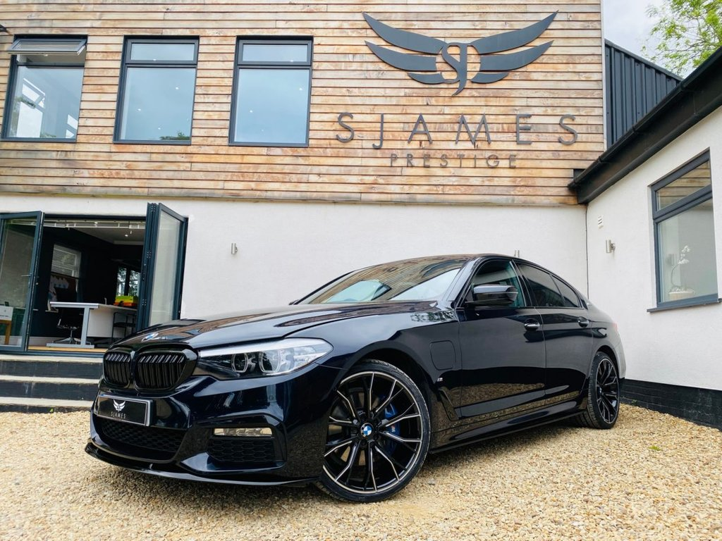 USED 2018 18 BMW 5 SERIES 2.0 530E M SPORT 4d AUTO 249 BHP