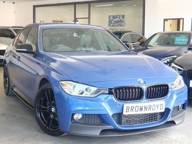 USED 2013 13 BMW 3 SERIES 2.0 320D XDRIVE M SPORT 4d 181 BHP BM PERFORMANCE STYLING+6.9%APR