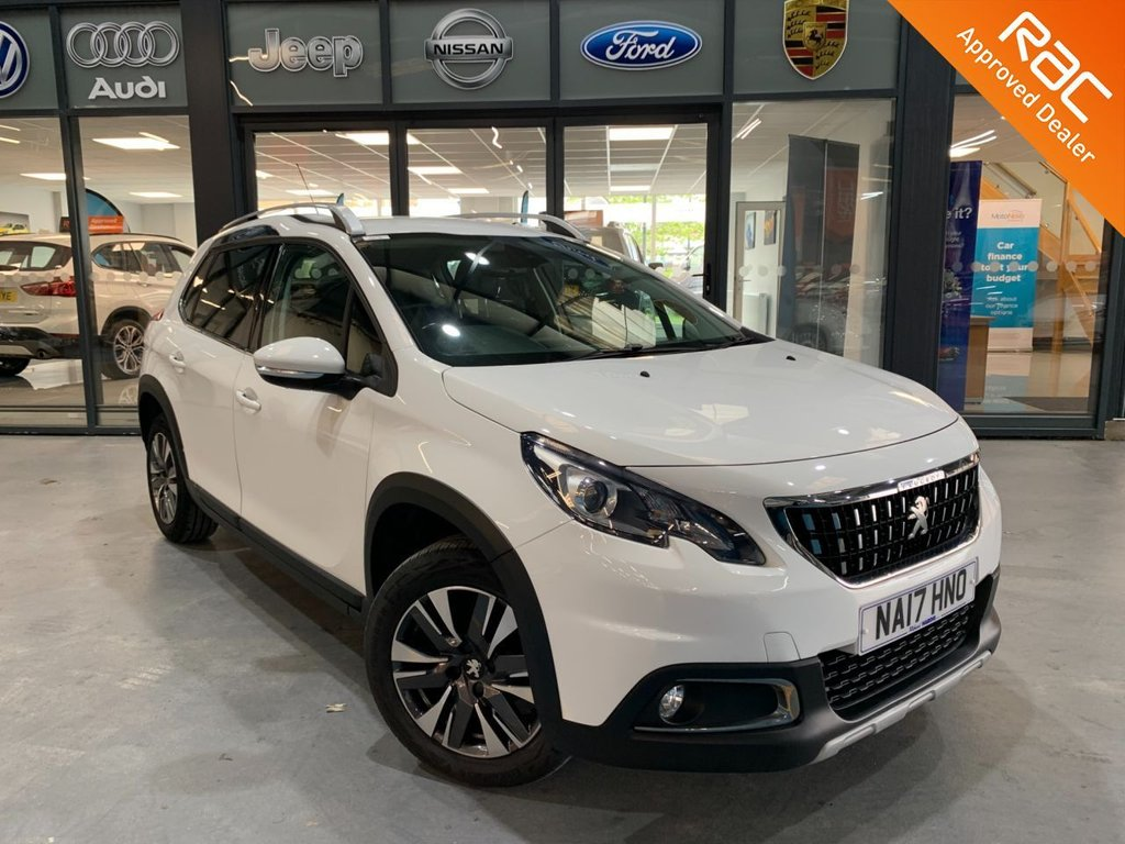 USED 2017 17 PEUGEOT 2008 1.2 PURETECH ALLURE 5d 82 BHP Complementary 12 Months RAC Warranty and 12 Months RAC Breakdown Cover Also Receive a Full MOT With All Advisory Work Completed, Fresh Engine Service and RAC Multipoint Check Before Collection/Delivery