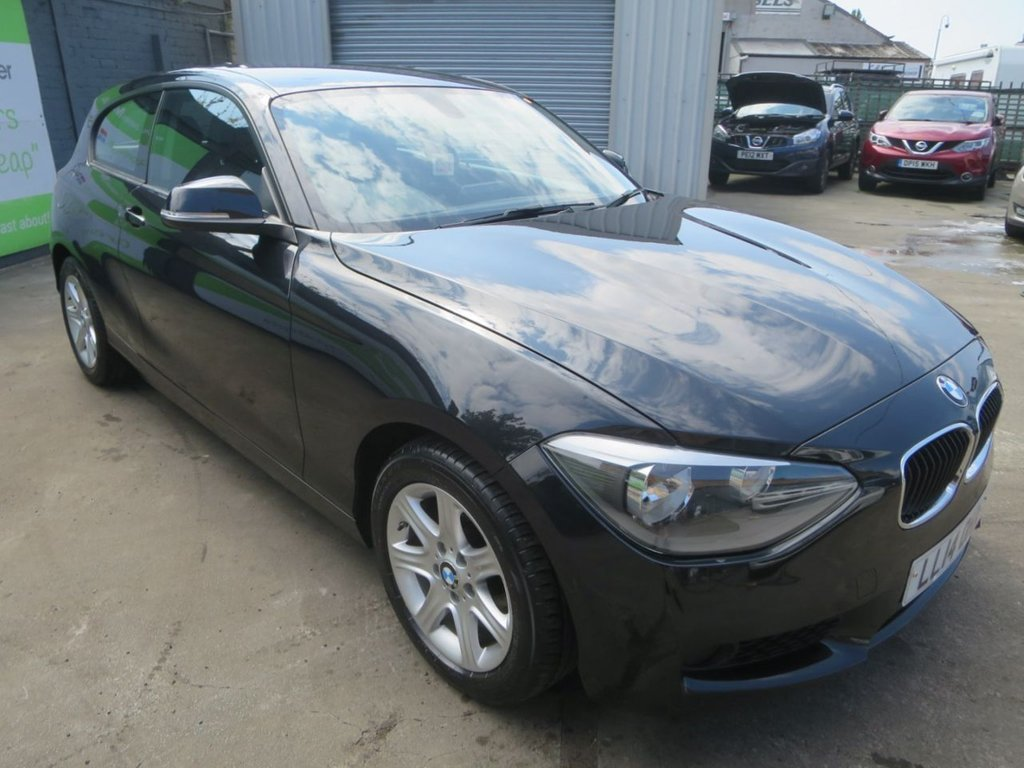 USED 2014 14 BMW 1 SERIES 1.6 114D ES 3d 94 BHP * FINANCE AND UK DELIVERY AVAILABLE! *
