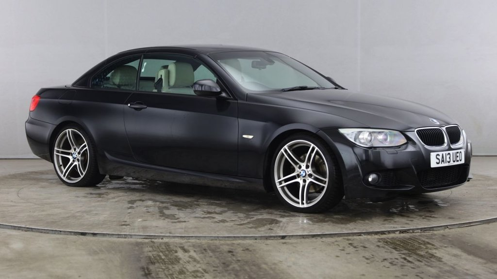 USED 2013 13 BMW 3 SERIES 2.0 320D M SPORT 2d AUTO-2 OWNER CAR-UPGRADE 19