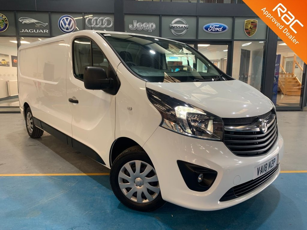 USED 2018 18 VAUXHALL VIVARO 1.6 L2H1 2900 SPORTIVE CDTI 120 BHP Complementary 12 Months RAC Warranty and 12 Months RAC Breakdown Cover Also Receive a Full MOT With All Advisory Work Completed, Fresh Engine Service and RAC Multipoint Check Before Collection/Delivery