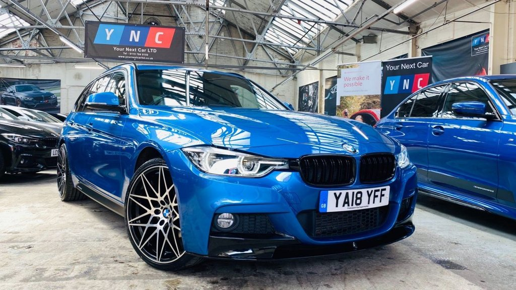 USED 2018 18 BMW 3 SERIES 2.0 320d M Sport Touring Auto xDrive (s/s) 5dr PERFORMANCEKIT+XDRIVE+20S