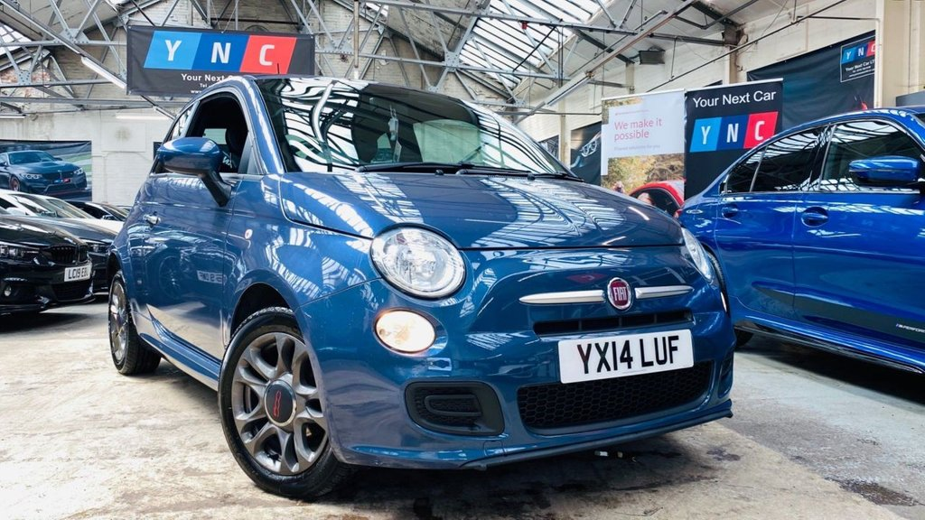 USED 2014 14 FIAT 500 1.2 S (s/s) 3dr 500S!+AUX+PRIVACYGLASS+VTIDY