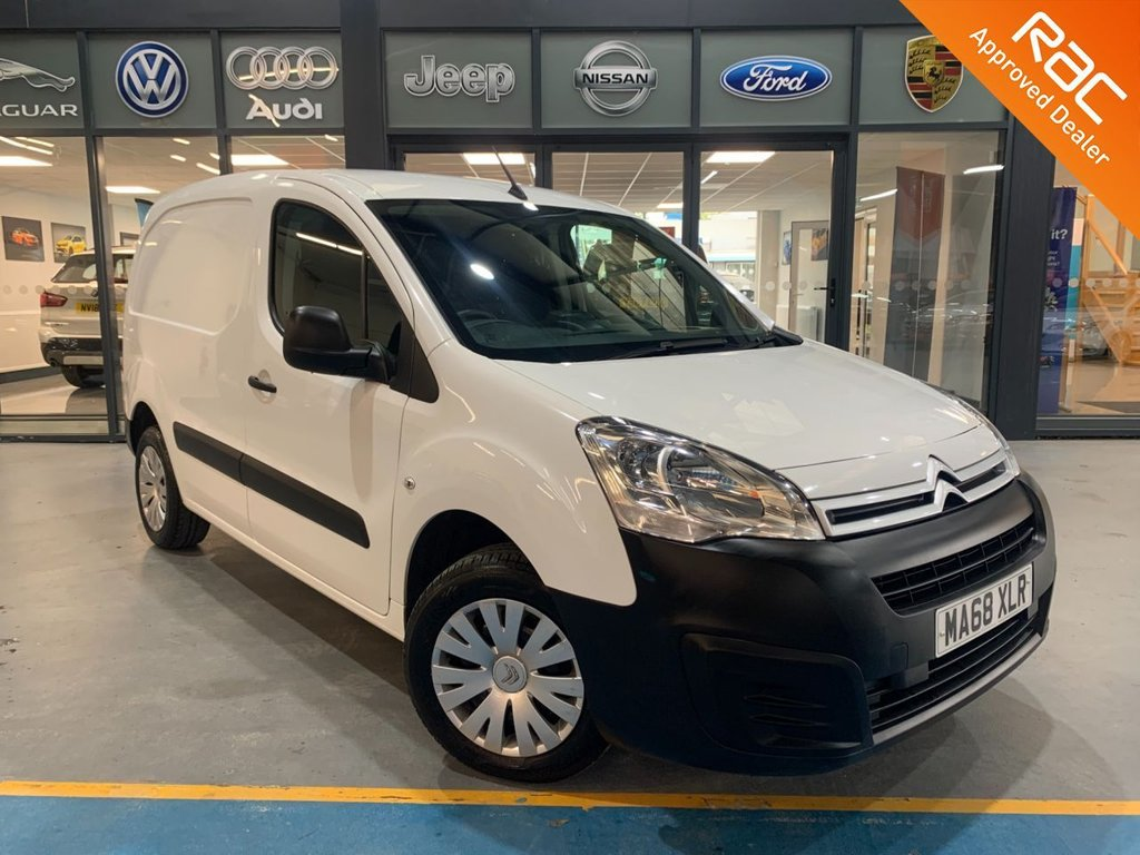 USED 2018 68 CITROEN BERLINGO 1.6 850 ENTERPRISE L1 BLUEHDI 98 BHP Complementary 12 Months RAC Warranty and 12 Months RAC Breakdown Cover Also Receive a Full MOT With All Advisory Work Completed, Fresh Engine Service and RAC Multipoint Check Before Collection/Delivery