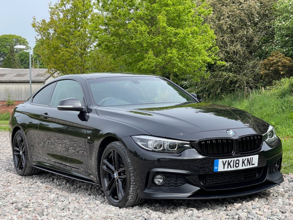 USED 2018 18 BMW 4 SERIES 3.0 430D XDRIVE M SPORT 2d 255 BHP Free Next Day Nationwide Delivery