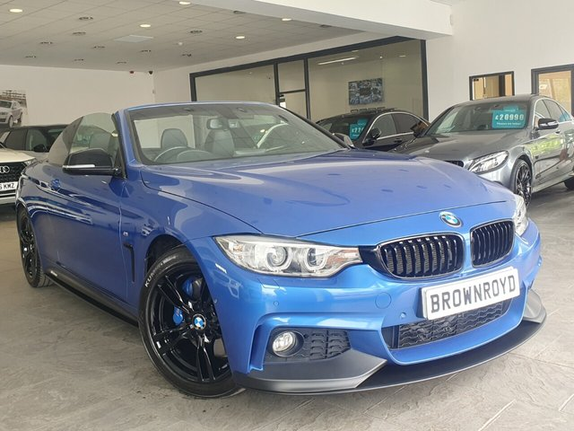 USED 2014 64 BMW 4 SERIES 2.0 420D M SPORT 2d 181 BHP BM PERFORMANCE STYLING+6.9%APR