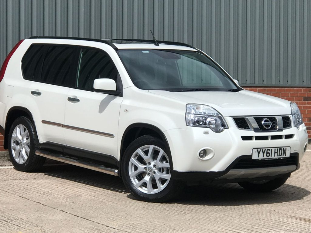 USED 2012 61 NISSAN X-TRAIL 2.0 PLATINUM TEKNA DCI  5d 171 BHP EXCELLENT CONDITION AND FANTASTIC VALUE 4X4