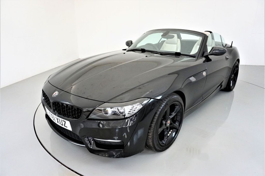 USED 2011 61 BMW Z4 3.0 Z4 SDRIVE35IS ROADSTER 2d AUTO-2 OWNER CAR-HEATED ALPINE WHITE DAKOTA LEATHER-CRUISE CONTROL-ELECTRIC MEMORY SEAT-PARKING SENSORS-AIR CONDITIONING